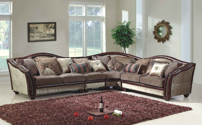 Park Ridge Formal Sectional Sofa
