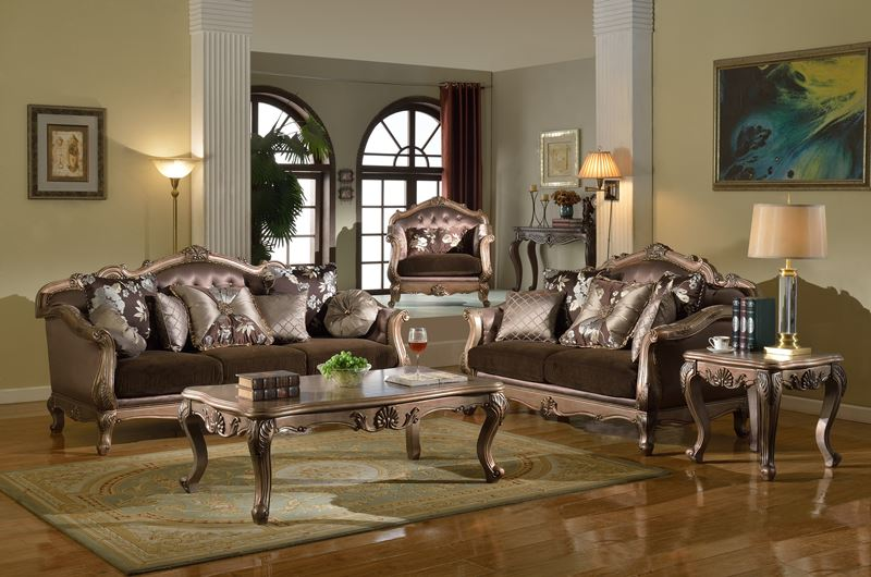 bronze formal living room set dallas designer furniture red barrel studio lavery 2 piece signature design by