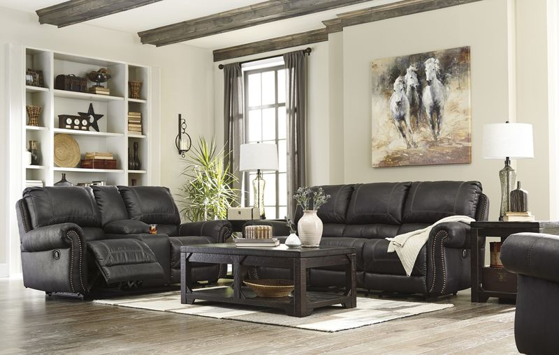 Milhaven Reclining Living Room Set