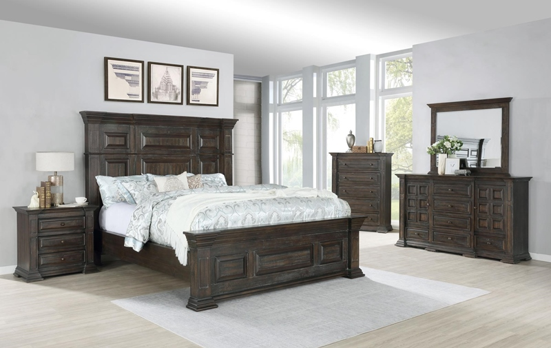 Arden Bedroom Set in Espresso Finish