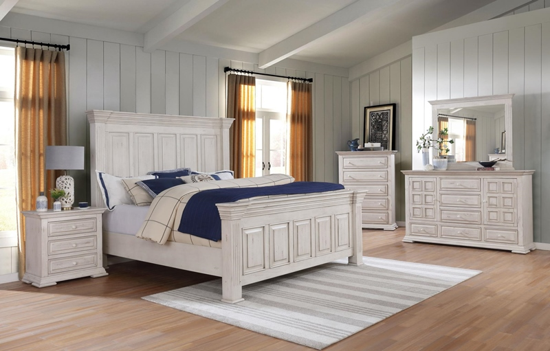 Avondale Bedroom Set in White