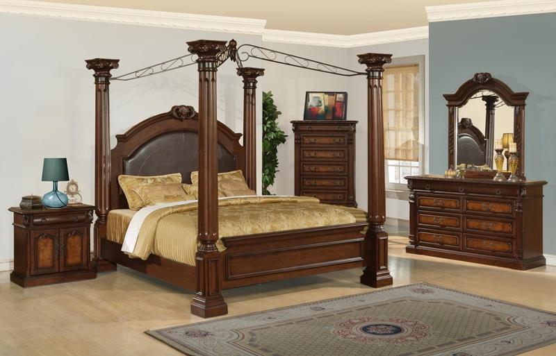 Juliet Bedroom Set in Cherry