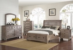 Allegra Bedroom Set in Oak Creek