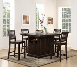 San Juan Counter Dining Room Set
