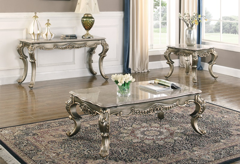 30 535 Ophelia Coffee Table Set New