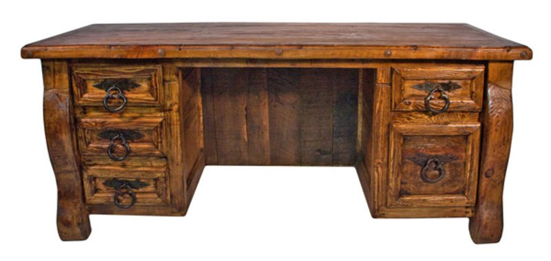 Old Wooden Desk ~ Dallas designer furniture old wood rustic desk