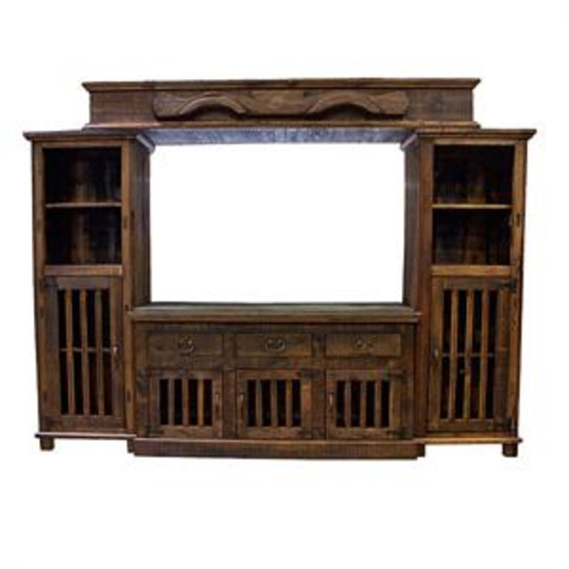Ox Yoke Rustic Entertainment Center