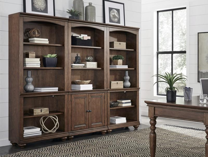 Oxford Executive Desk Set in Brown