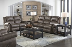Westin Reclining Living Room Set in Ash