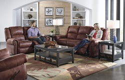 Westin Reclining Living Room Set in Tanner