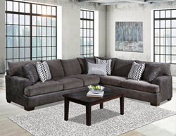 Winston Sectional Sofa in Grey