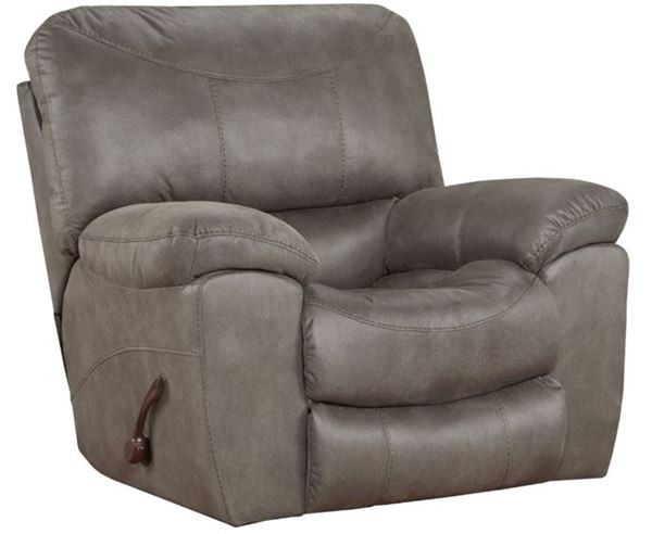 Trent Charcoal Reclining Living Room Set