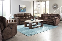 Carrington Reclining Living Room Set in Dusk