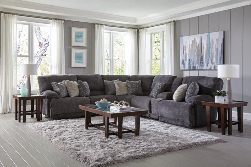 Burbank Smoke Motion Sectional