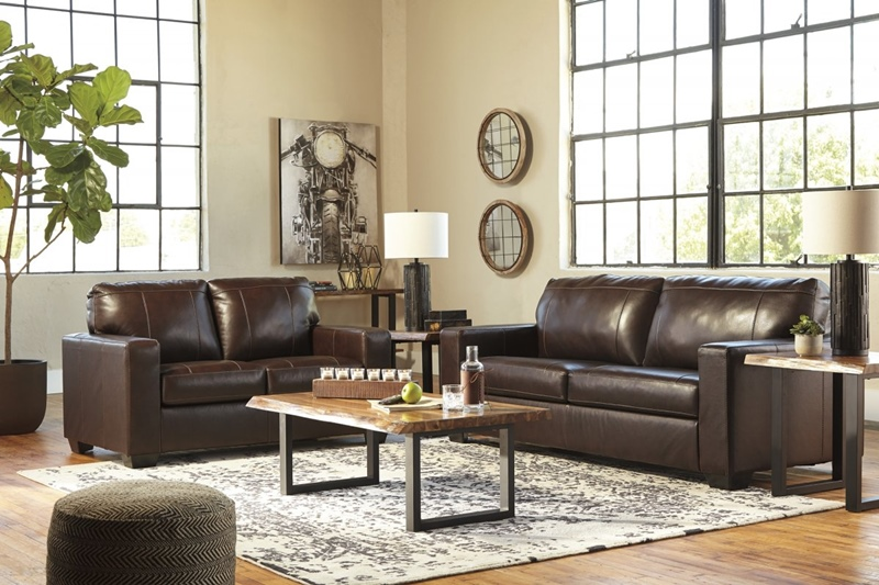 Morelos Brown Living Room Set