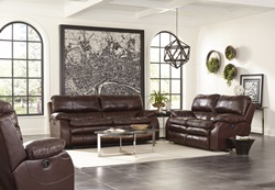 Verona Reclining Leather Living Room Set