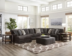 Mammoth Smoke Sectional with LAF Chaise