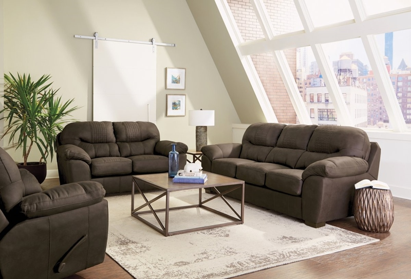 Legend Chocolate Living Room Set