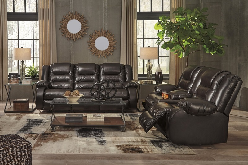 Fantastic 79307 Vacherie Reclining Sofa Set Pfc Free Delivery Gmtry Best Dining Table And Chair Ideas Images Gmtryco