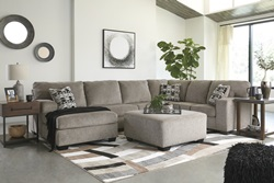 Ballinasloe Platinum Sectional with LAF Chaise