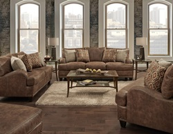 Indira Rustic Living Room Set