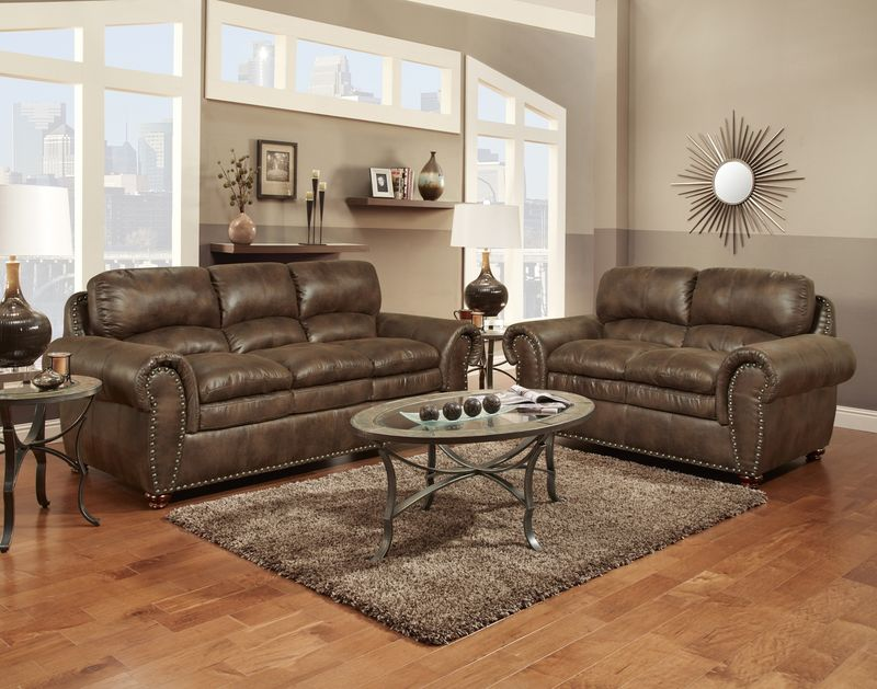Padre Living Room Set in Espresso