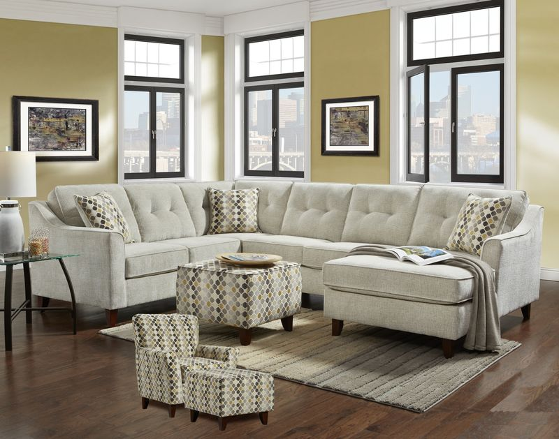 Page Sectional Sofa Set