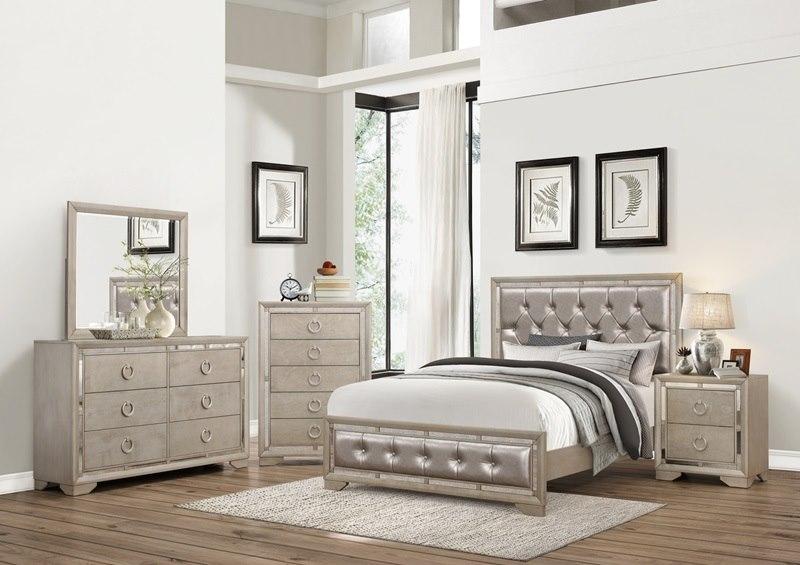 Parker Glam Bedroom Set