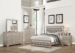 Parker Glam Bedroom Set