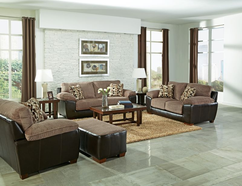 Pinson Living Room Set in Chateau