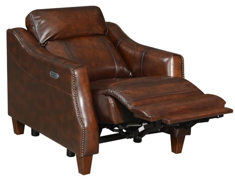 Akari Leather Reclining Living Room Set
