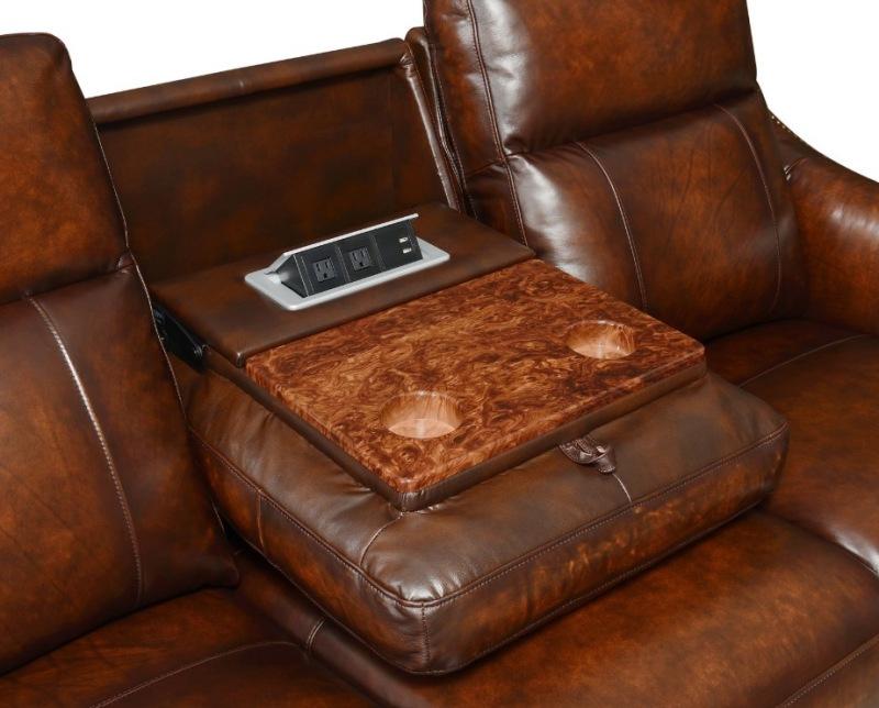 Steve Silver Ai950 Akari Leather Reclining Living Room Set