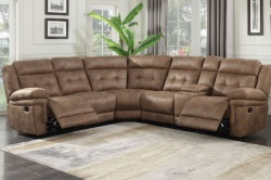 Anastasia Reclining Sectional Sofa