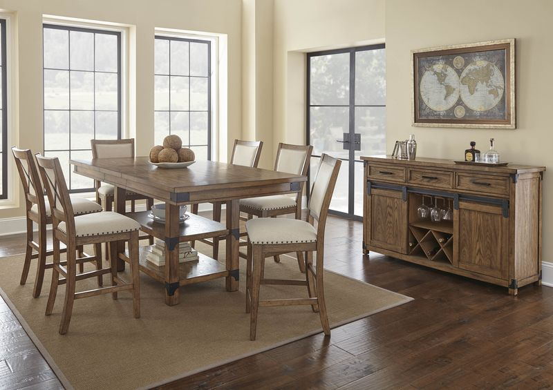 Britta Counter Height Dining Room Set