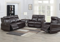 Coachella Leather Reclining Living Room Set