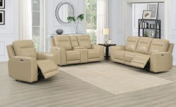 Doncella Leather Reclining Living Room Set