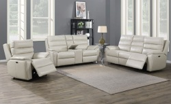 Duval Leather Reclining Living Room Set