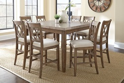Franco Counter Height Dining Room Set