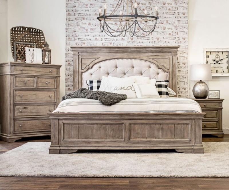 Highland Park Bedroom Set in Driftwood