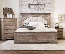 Highland Park Bedroom Set in Driftwood