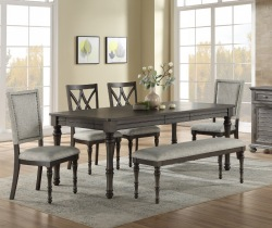 Linnett Dining Room Set with Bench