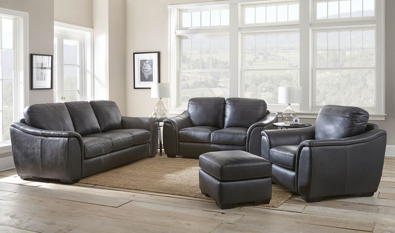 Laurence Leather Living Room Set