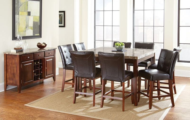 Montibello Counter Height Dining Room Set