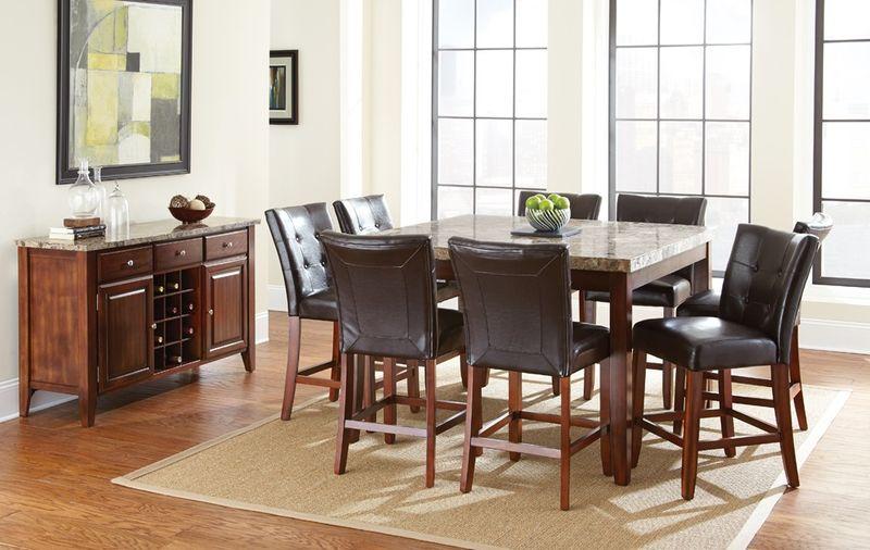 Montibello Counter Height Dining Room Set