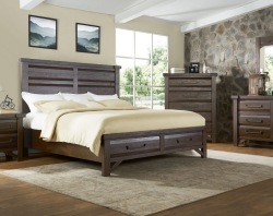 Timber Bedroom Set with Storage Bed
