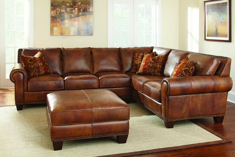 Silverado Leather Sectional
