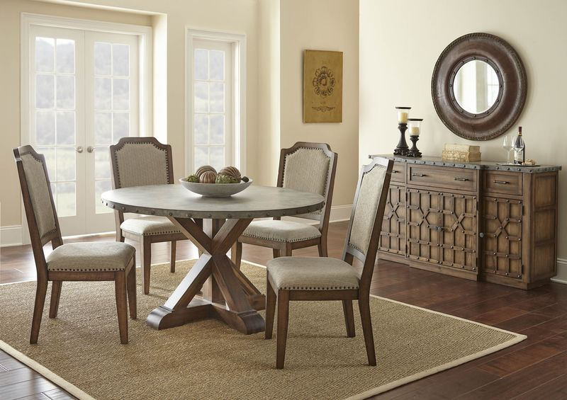 Wayland Round Dining Room Set