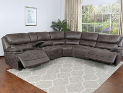 Plaza 6 Piece Reclining Sectional Sofa