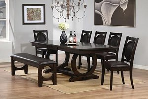 Sadler Dining Room Set with Bench