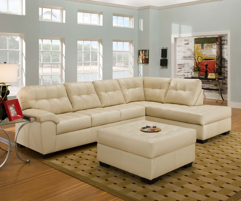 Soho Sectional Sofa In Natural